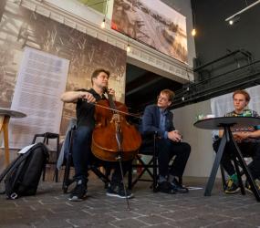 Industriálne raňajky {2} hudba v priestore